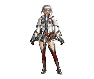 FrontierGen-Bande Armor (Female) (Both) (Front) Render 002
