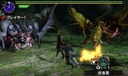MHXX-Hyper Silver Rathalos and Gold Rathian Screenshot 001