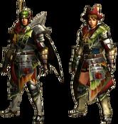 MHGU-Maccao Armor 2 (Both) Render