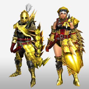FrontierGen-Luna G Armor (Gunner) (Front) Render
