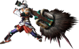FrontierGen-Hunting Horn Equipment Render 003