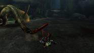 MHP3-Green Nargacuga Screenshot 009