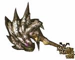 Silver Rathalos Hammer