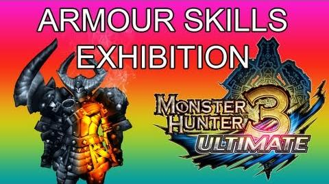 Armour Skills Exhibition (explanation and uses) - Monster Hunter 3 Ultimate