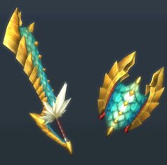 MH3U-Sword and Shield Render 020