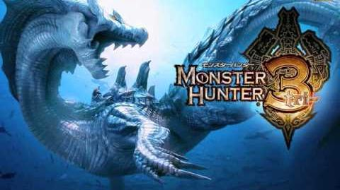Monster Hunter 3 (Tri) OST Disc 1 - Sand and Hot Wind - Barboros Barroth