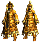 MHGU-Ludroth Armor (Blademaster) Render