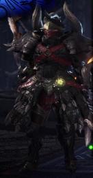 MHWI-DiablosNeroB+ArmorSet