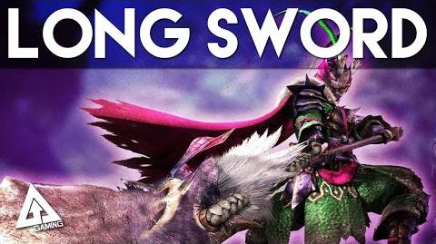 Monster Hunter 4 Ultimate Long Sword Tutorial MH4U Basics