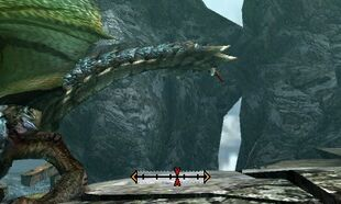 MH4U-Azure Rathalos Tail Break 001