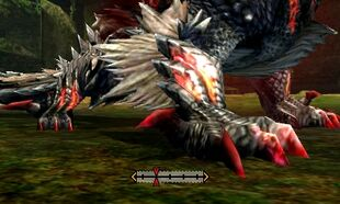 MH4U-Stygian Zinogre Right Claw Break 001