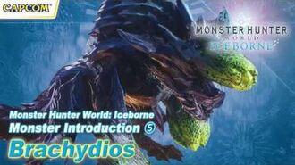 Monster Hunter World Iceborne - Monster Introduction 5 Brachydios
