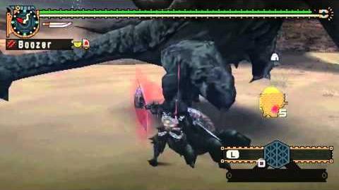 MHFU HR9 Black Diablos - Dual Swords (12 10)