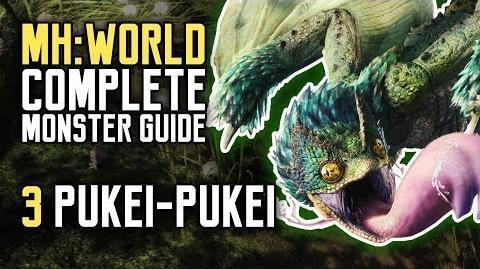 Monster Hunter World - Pukei-Pukei (Complete Monster Guide Walkthough)