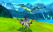 MHST-Rathalos and Azure Rathalos Screenshot 001