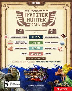Monster Hunter Cafe Truck - Pax West 2018