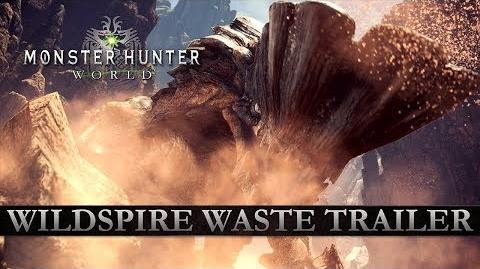 Monster Hunter World - Wildspire Waste Trailer