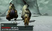 MHGen-Snowbaron Lagombi and Lagombi Screenshot 001