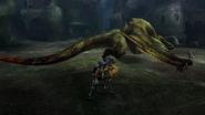 MHP3-Green Nargacuga Screenshot 003