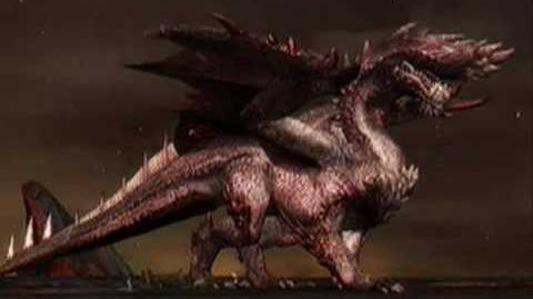 Monster Hunter 3 (Tri) MHP3rd- Glittering Black Dragon!!-Alatreon (Final Boss Online Theme)