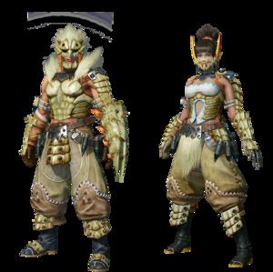 MHO-Barioth Armor (Gunner) Render 001