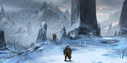 MHO-Yilufa Snowy Mountains Concept Art 016