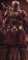 Odogaron α Armor (MHW)