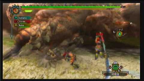 【Wii】 MH3 - 街★4 - ボルボロスの狩猟せよ 2 2