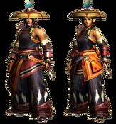 MHGU-Yukumo Armor (Both) Render