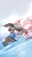 MHSP2-Grimclaw Tigrex and Veteran Khezu Screenshot 001