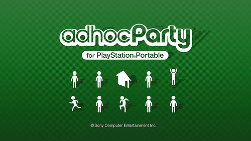 Ad hoc party psp