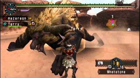 MHFU Twin Terrors (Multiplayer)