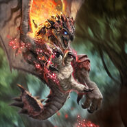 TEPPEN-Rathalos Unit Card Artwork 001