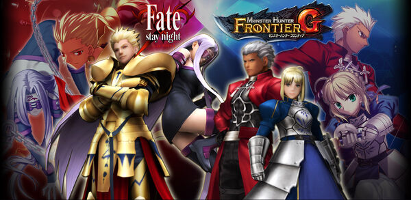 FrontierGen-Fate stay night x MHF-G Wallpaper 000
