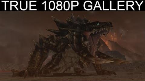 33 - Tyrannical Roar 1080p Akantor アカムトルム - Monster Hunter Freedom Unite Gallery MHFU