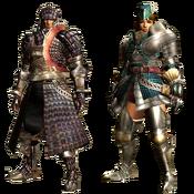 MHGU-Velociprey Armor (Blademaster) Render