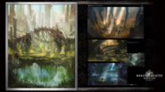 MHW-Rotten Vale Concept Art 001