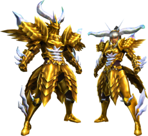 FrontierGen-Garuba Armor (Blademaster) Render 2