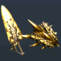 MH3U-Sword and Shield Render 026