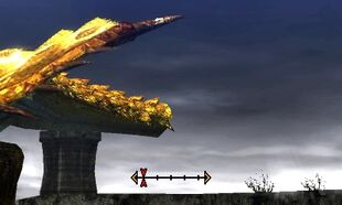 MH4U-Gold Rathian Tail Break 002