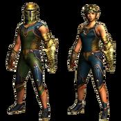 MHGU-Konchu Armor (Both) Render