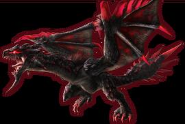 FrontierGen-Unknown (Black Flying Wyvern) Render 003