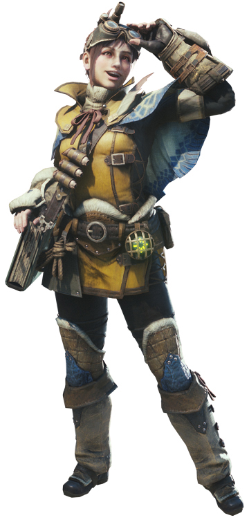monster hunter world how to change handler outfit