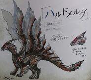 FrontierGen-Harudomerugu Concept Art 001