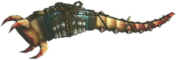 FrontierGen-Hunting Horn 022 Low Quality Render 001