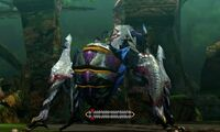 MH4U-Shrouded Nerscylla Poison Spikes Break 003