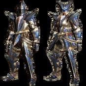 MHGU-Ceanataur Armor (Blademaster) Render