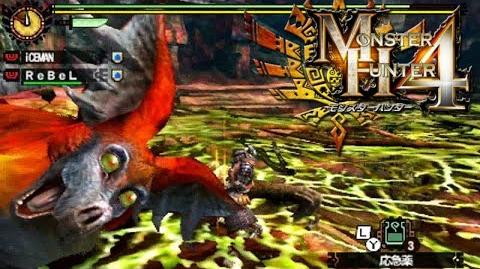 Monster Hunter 4 Nubcakes 04 - Kechawacha English commentary online gameplay