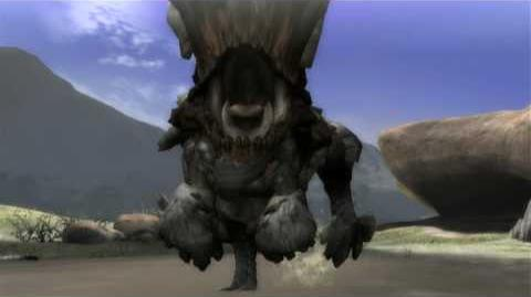 Monster Hunter Tri - Barroth
