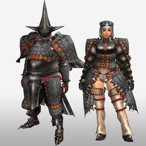 FrontierGen-Geryosu G Armor (Blademaster) (Front) Render